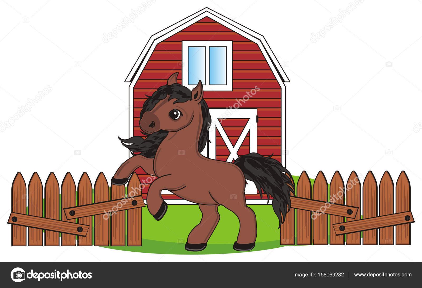 Little Cute Horse Stock Photo C Tatty77tatty 158069282