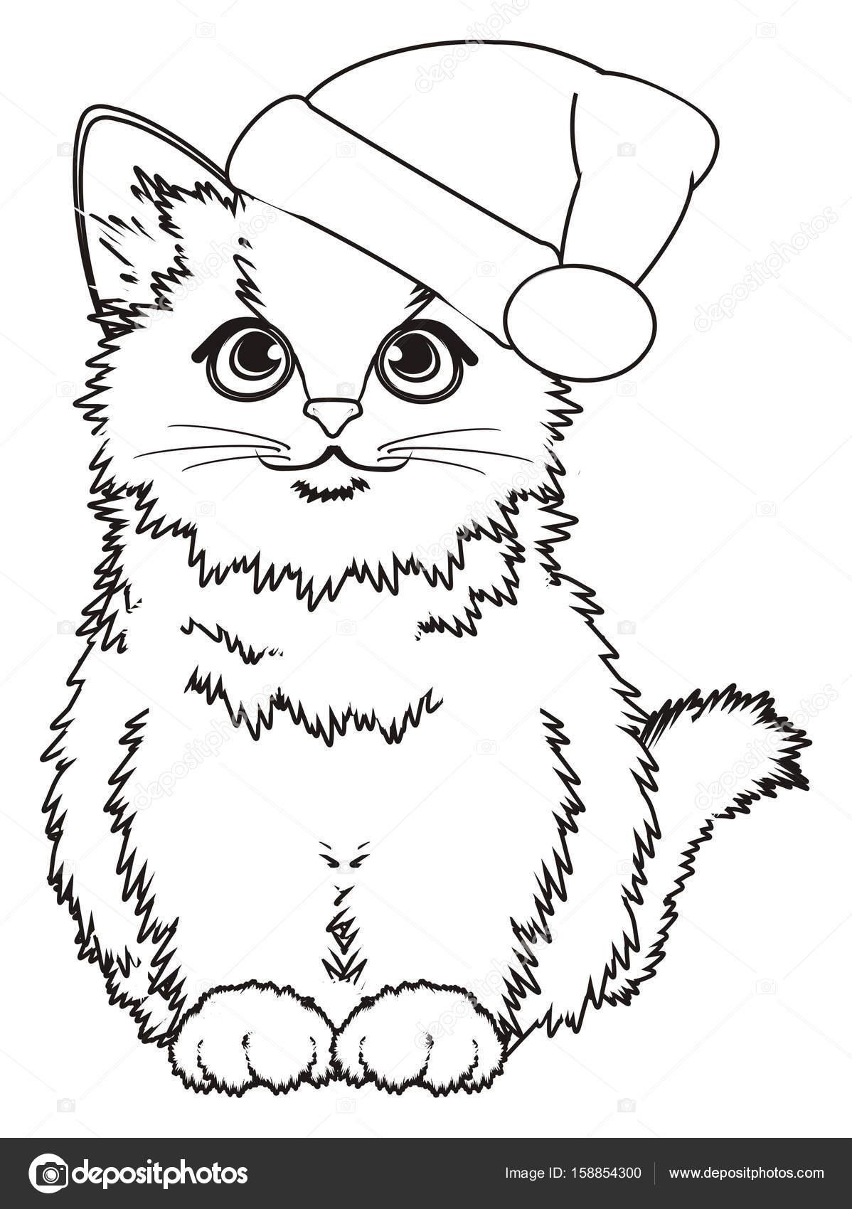 Frais image de petit chat a colorier - Jeux de petit chaton gratuit ...