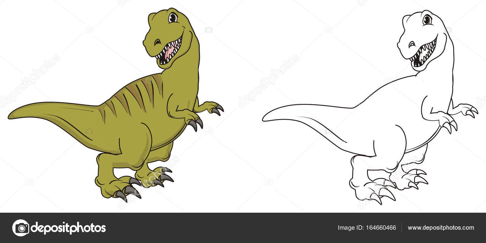 un lindo dinosaurio — Fotos de Stock © tatty77tatty #164660466