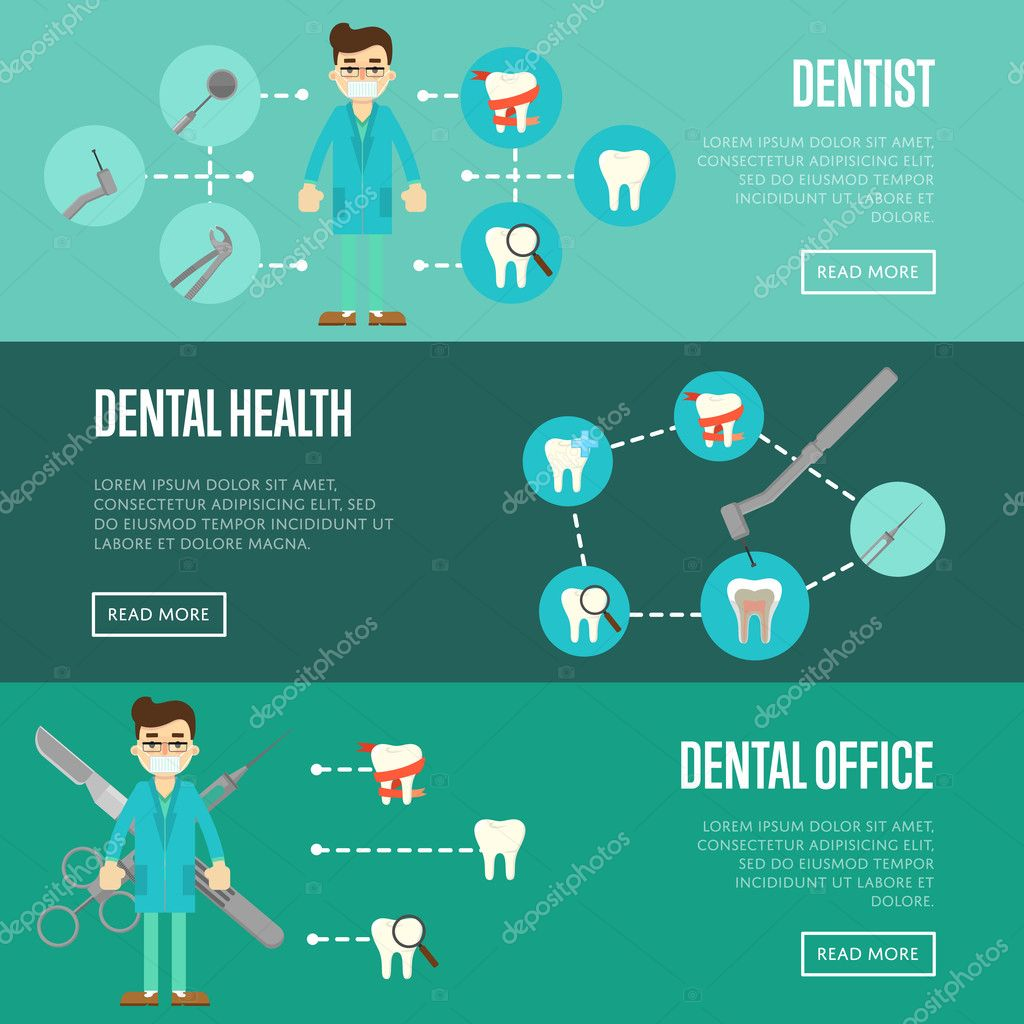36d86a263 Modelos de site horizontal consultório odontológico com dentista masculino  em azul uniforme médico e ícones de dentes