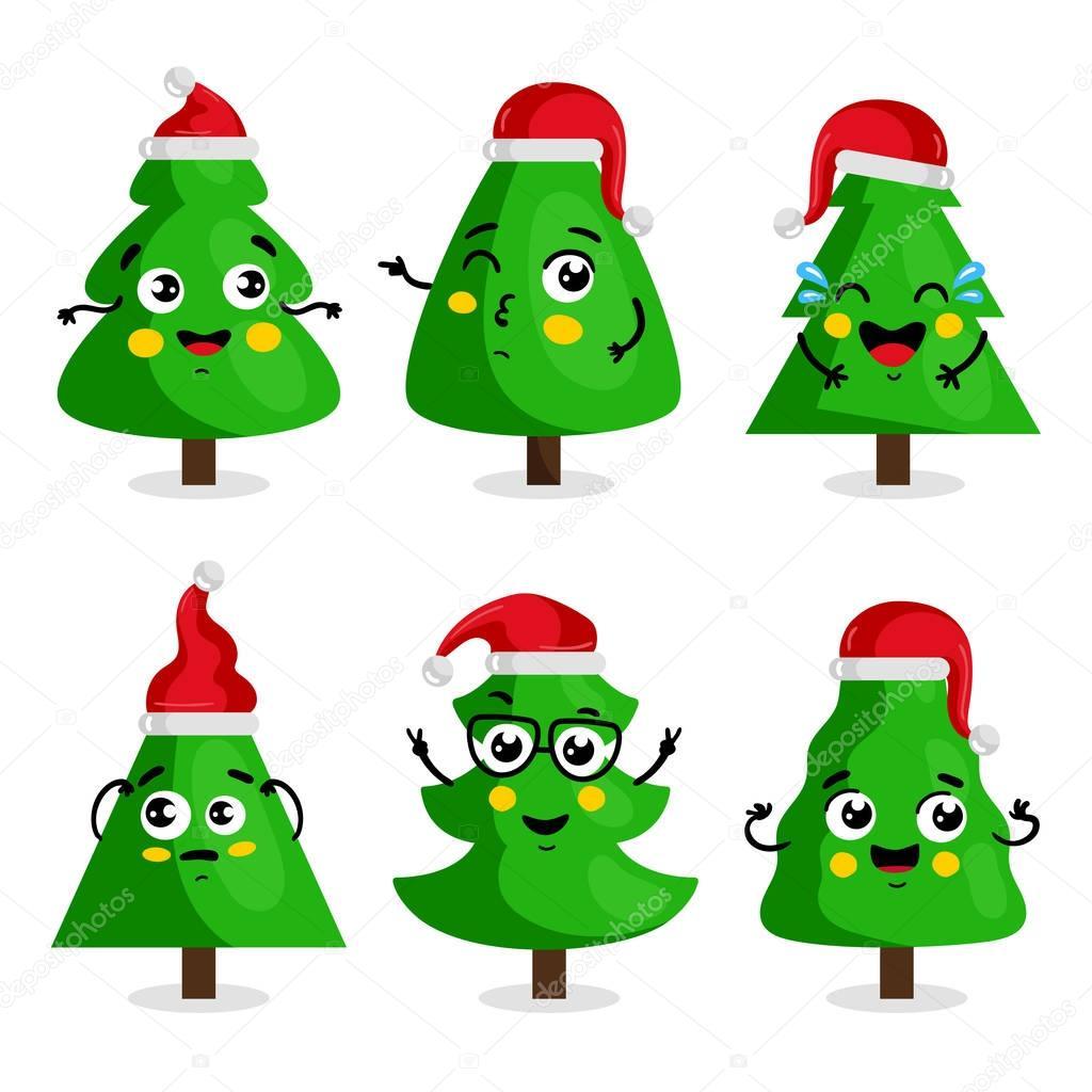 Arbol Dibujo Navidad Personajes De Dibujos Animados De Arbol De - Dibujo-navidad