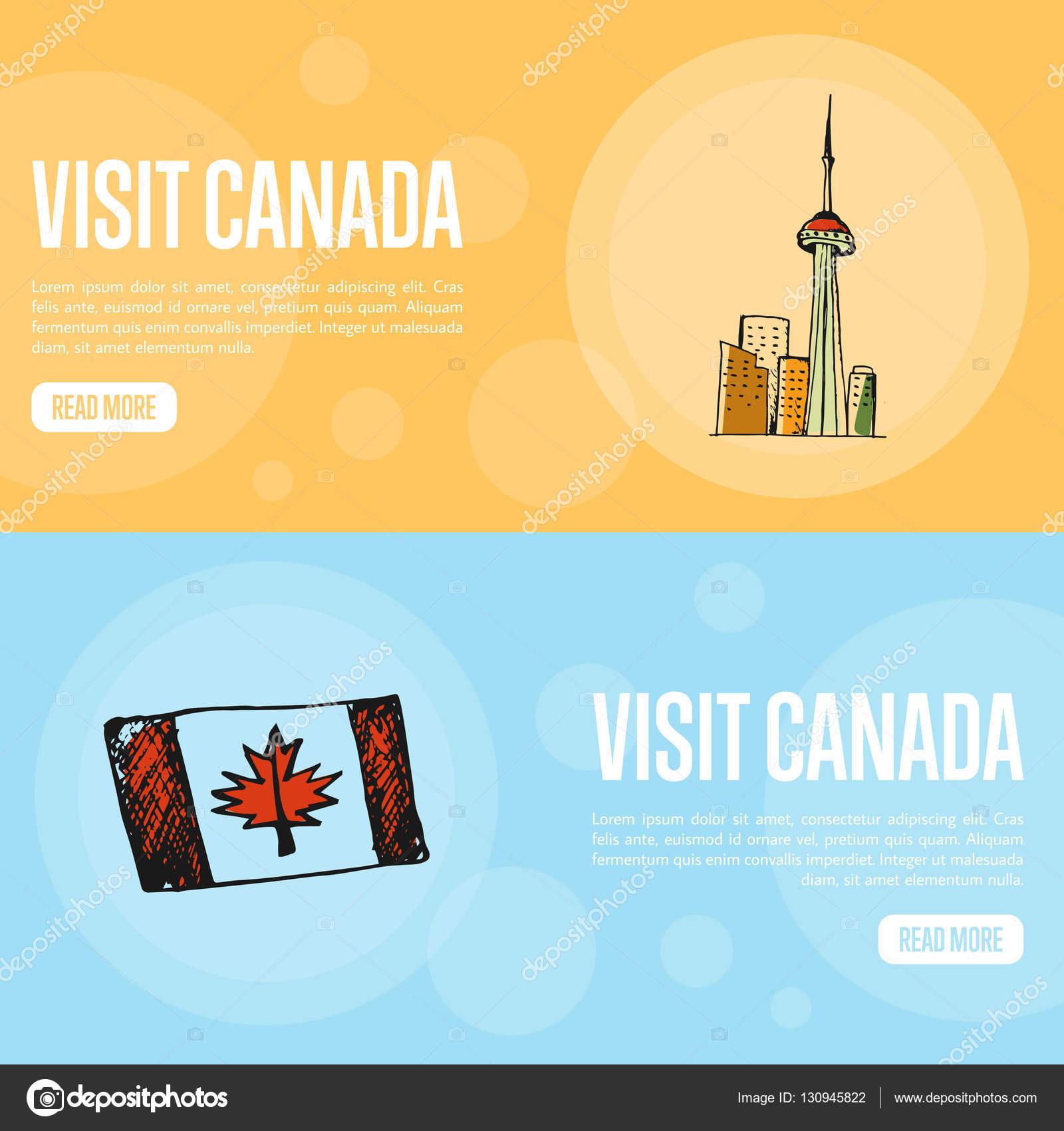 Visite Canadá Travel Company plantilla de página de aterrizaje ...