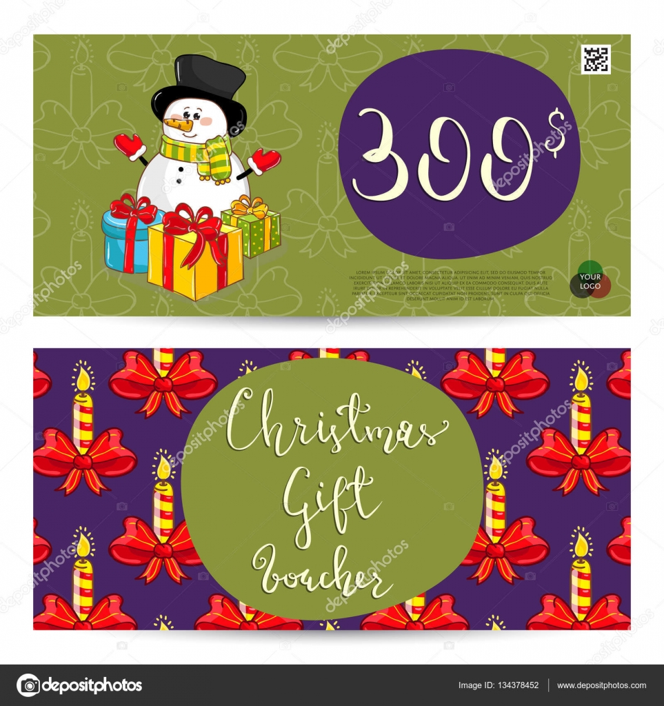 Small christmas gift cards for packages