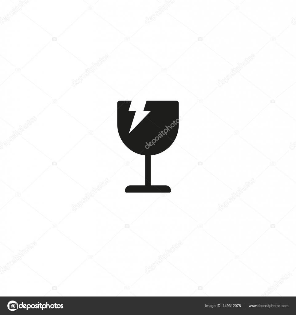 Fragile handle with care symbol on white stock vector fragile handle with care symbol on white stock vector buycottarizona