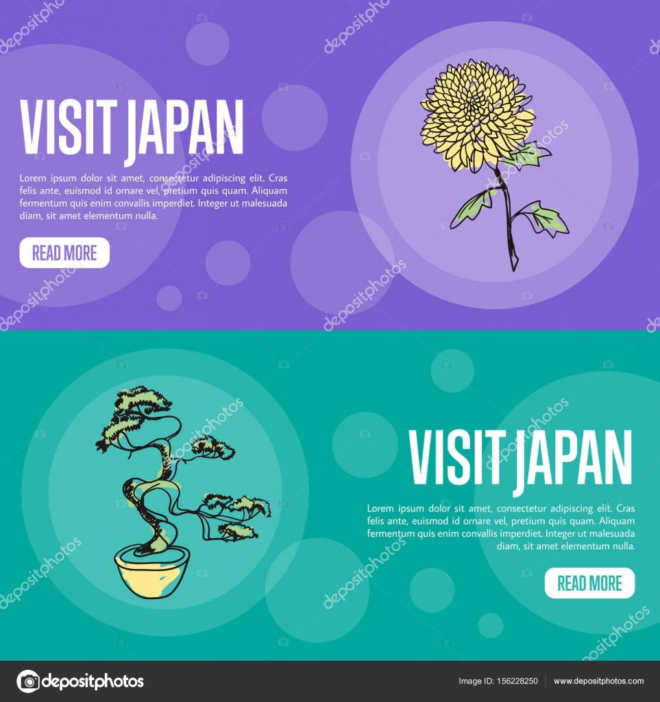 Agencia de viajes de Japón visita plantilla de página de aterrizaje ...