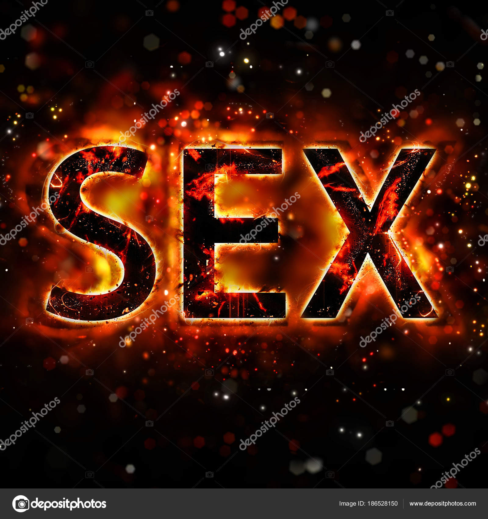 Word sex with bokeh effect — Stock Photo © ornithopter #186528150