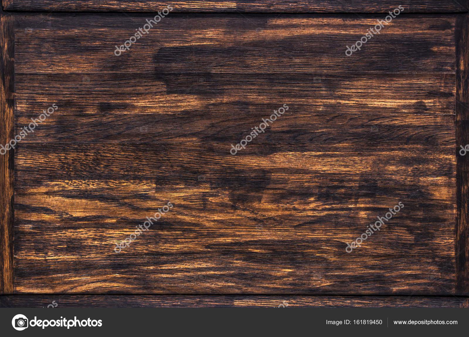 Textura de madera oscura, marco de madera — Foto de stock © xamtiw ...