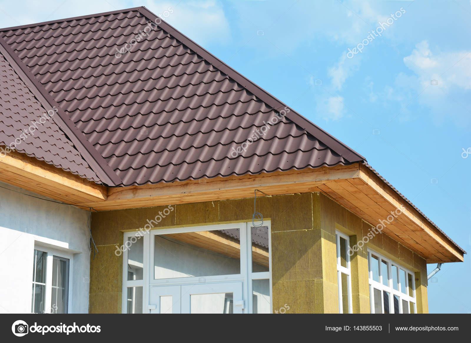 Dach Konstruktion Haus Wand Reparatur Renovierung Dammung Detail