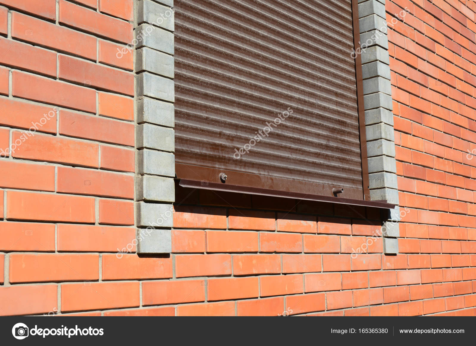 House Window With Security Shutters Grilles Security