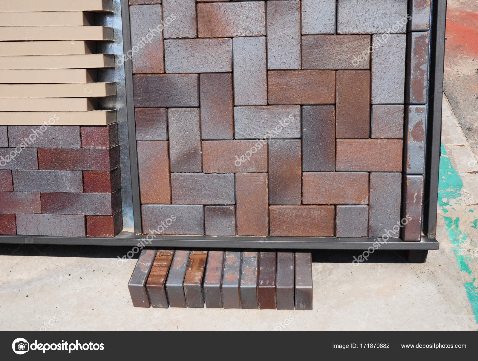 https depositphotos com 171870882 stock photo pavement bricks for paving for html