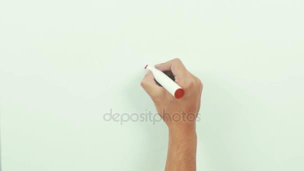 Ručně kreslenou, tvar srdce pastel izolované na tabule