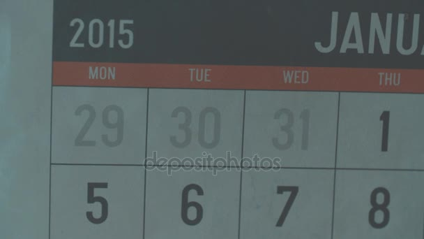 Calendar page of january 2015. Date 24 circled with sign sport day