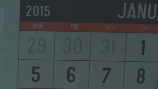 Seznam Kalendář leden 2015. Datum 24 v kroužku s znamení sportovní den