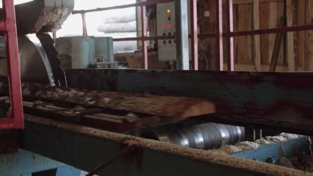 Pilařské stroje řezací špalky dřeva prkno, válcování kovových válců