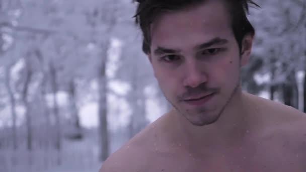 Naakt mannelijk model video