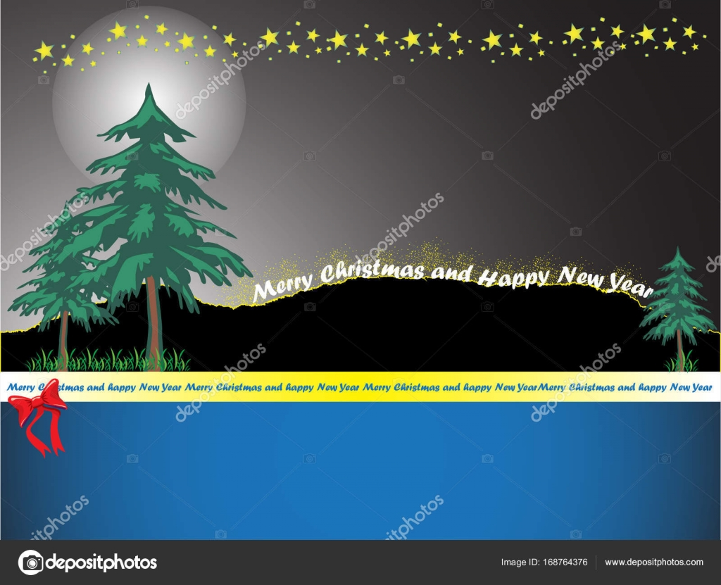 Christmas background vector design, celebration new year and ...