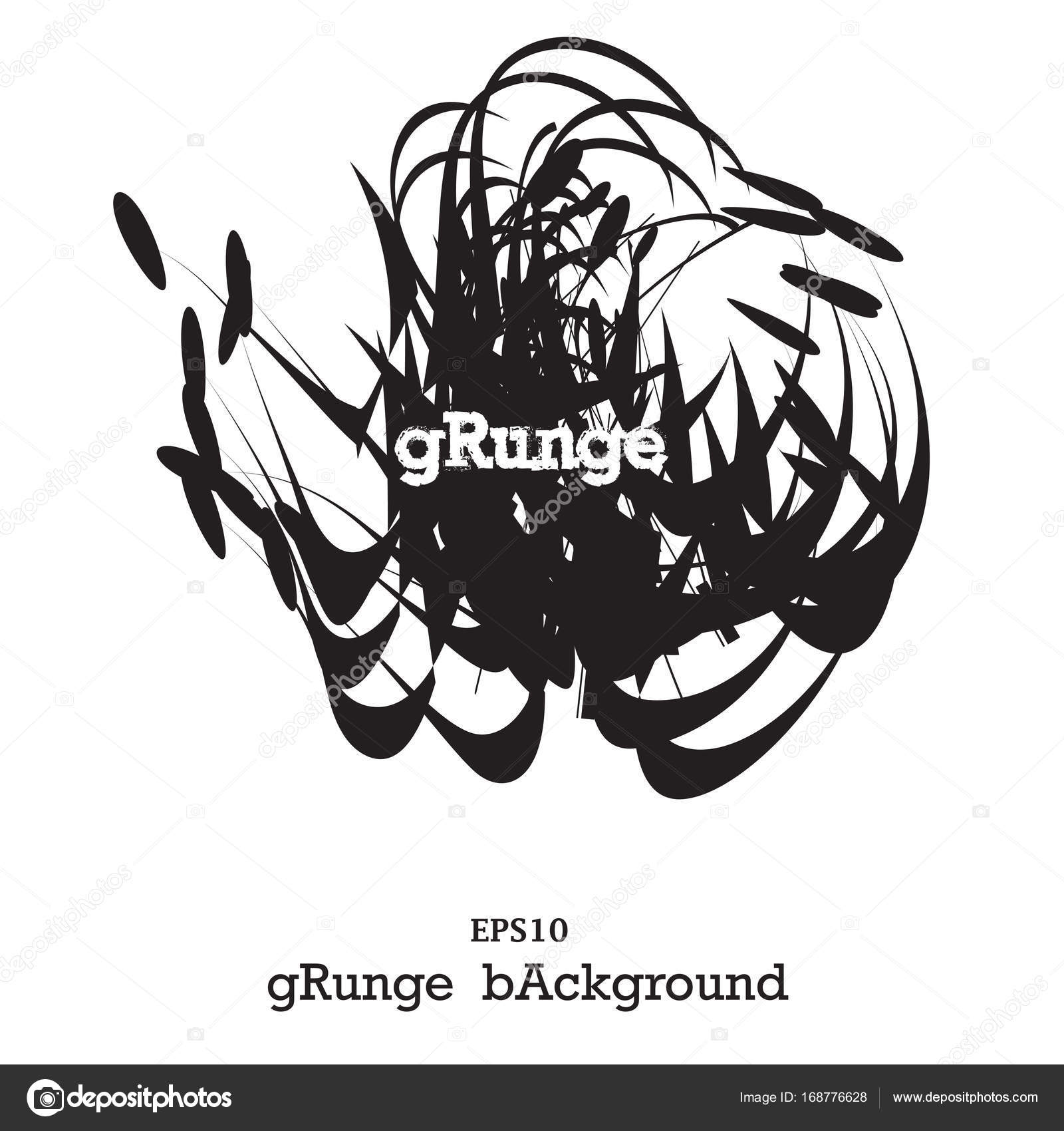 modern textured grunge brush stroke black isolated paintbrush