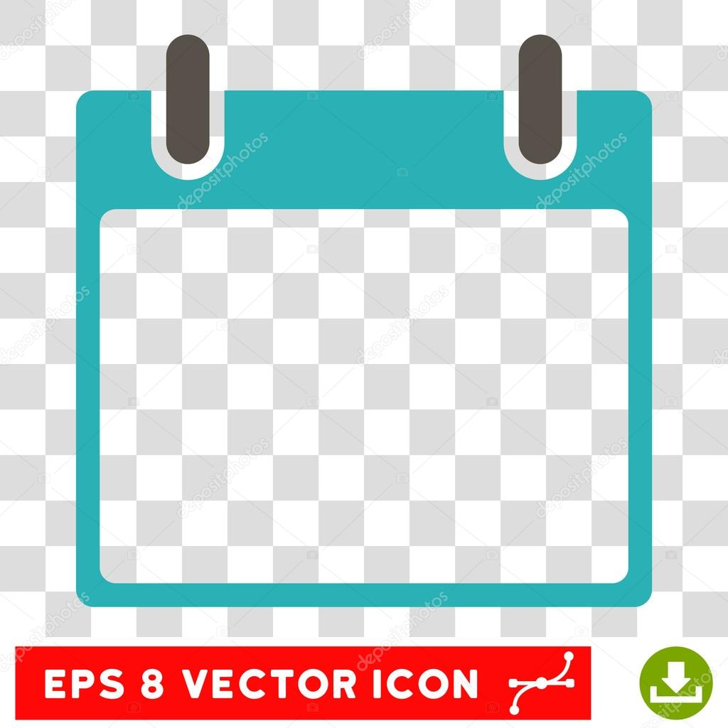 Empty calendar leaf eps vector icon stock vector ahasoft vector empty calendar leaf eps vector icon illustration style is flat iconic bicolor grey and cyan symbol on a transparent background vector by ahasoft buycottarizona Gallery