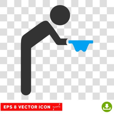 Child Beggar Vector Eps Icon