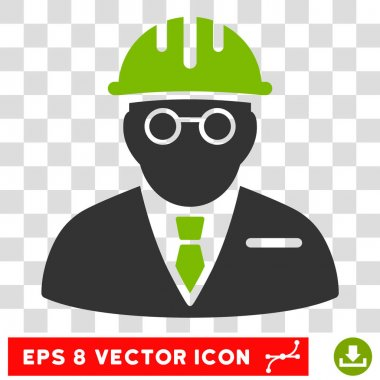 Blind Engineer Eps Vector Icon