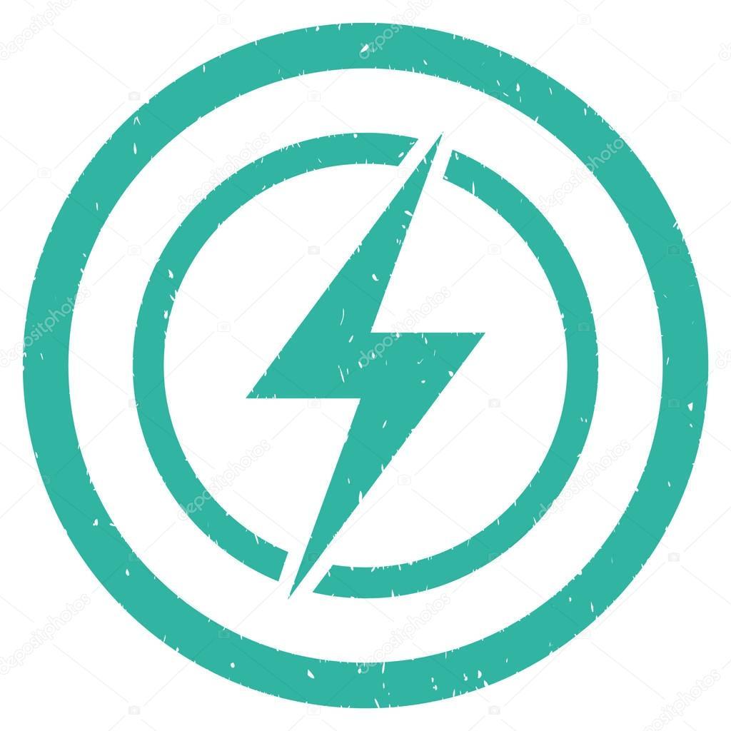 Elektrische Gefahr Symbol-Stempel — Stockvektor © ahasoft #130383492