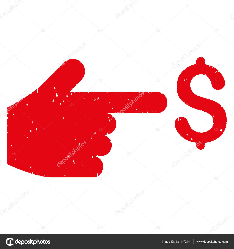 Dollar Index Grainy Texture Icon Stock Vector Ahasoft 131117244