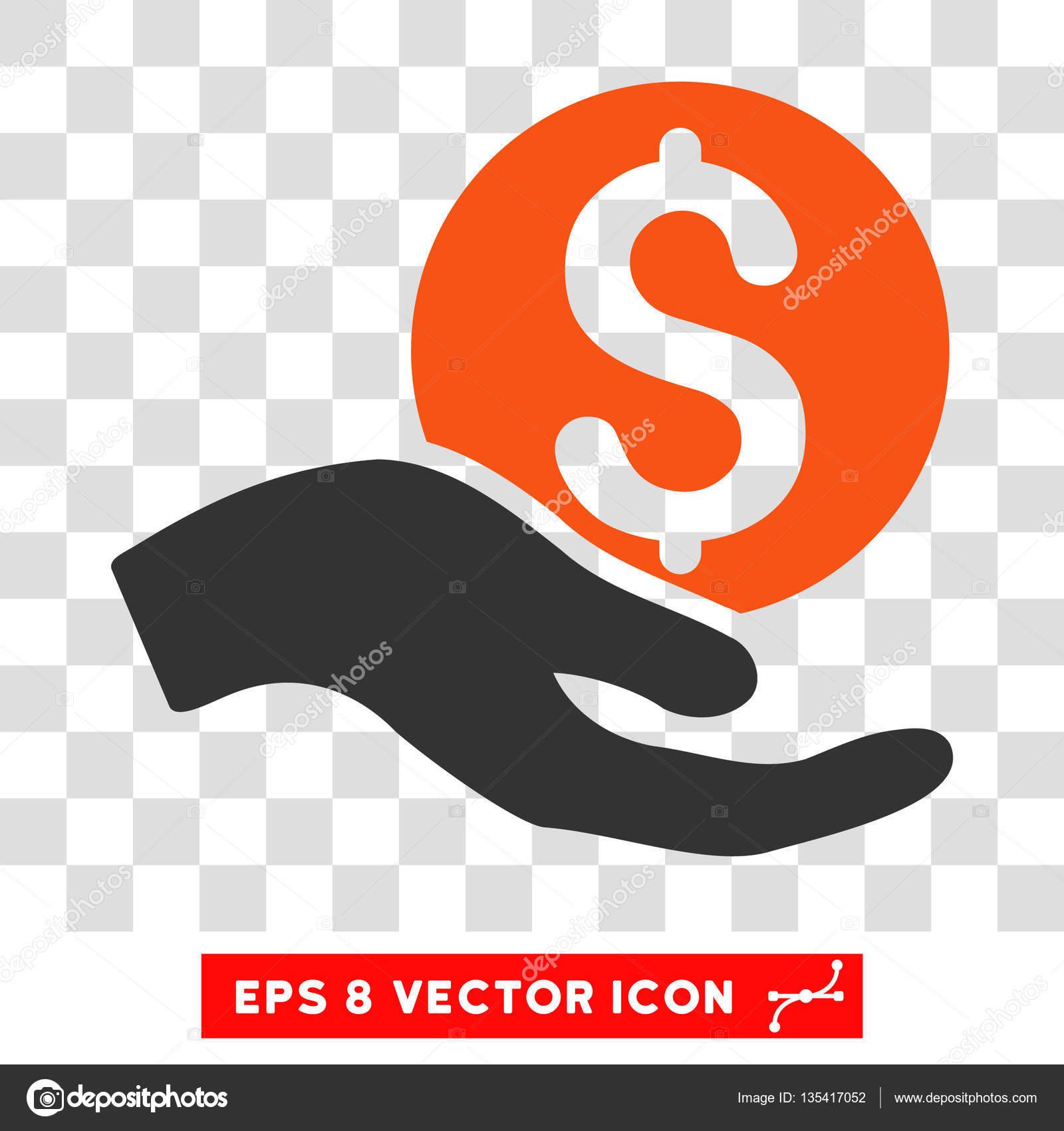 Icone De Vecteur Pour Le Don D Argent Image Vectorielle Ahasoft