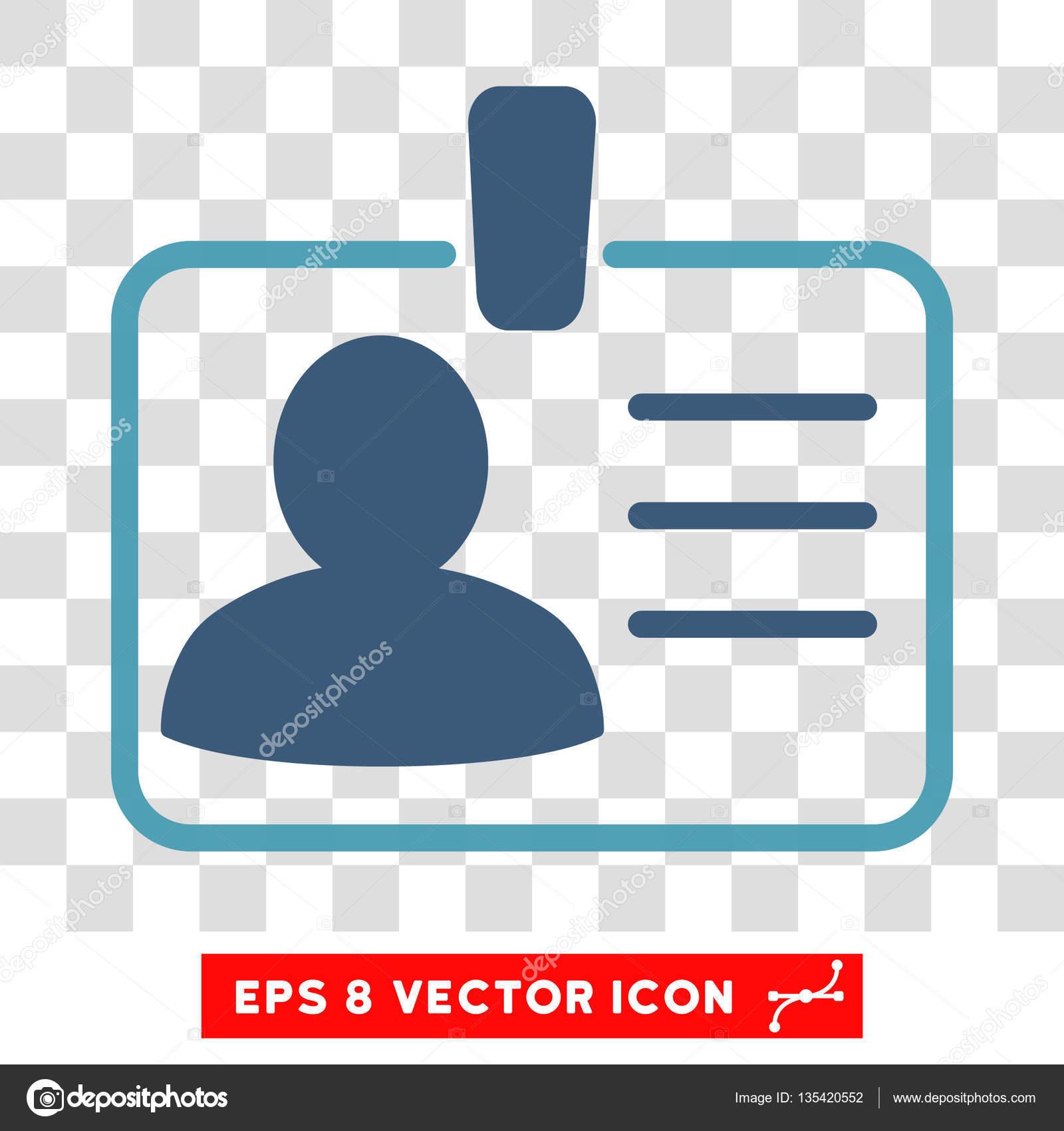 formatos para credenciales de trabajo icono de vector insignia