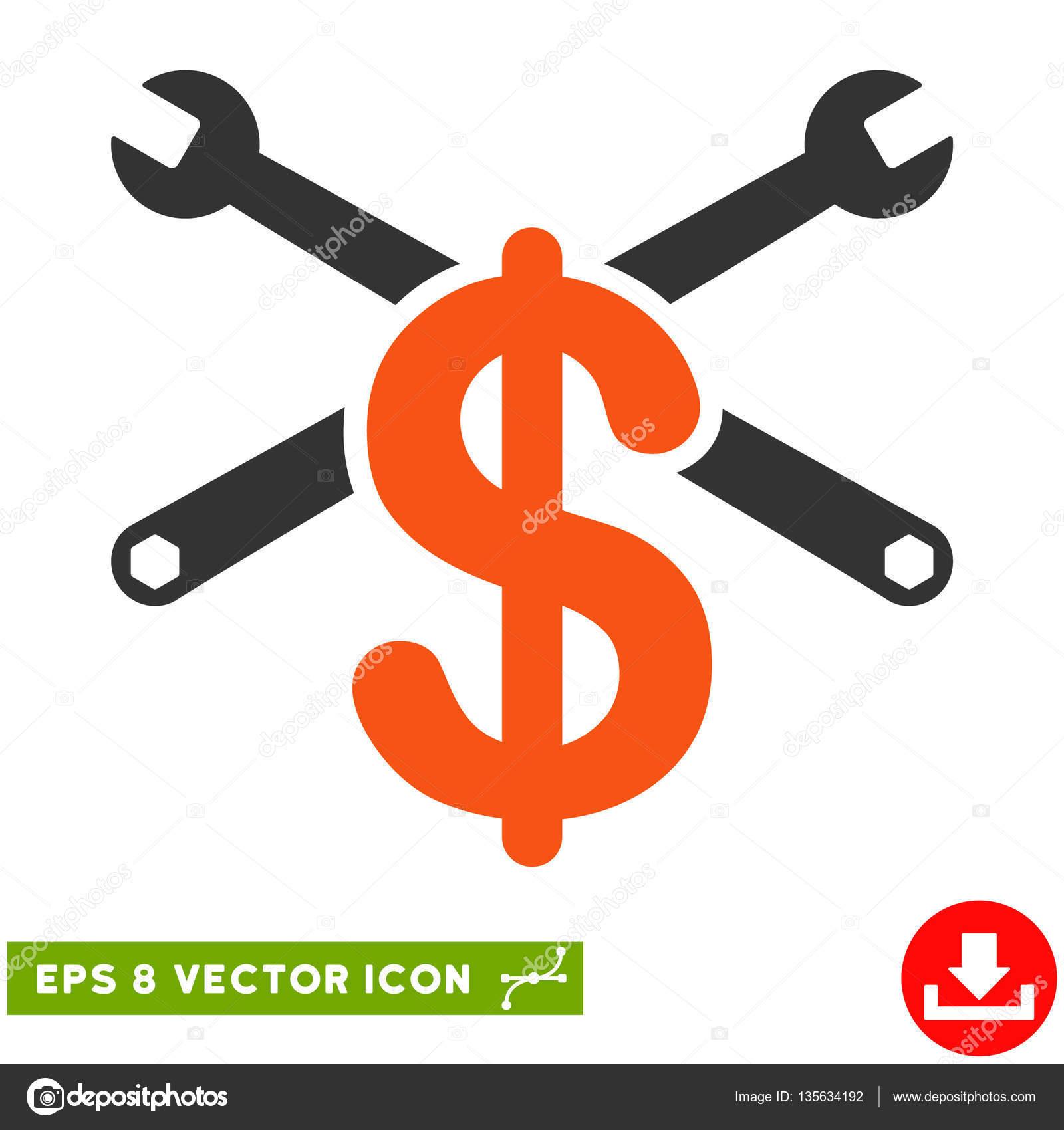 service price vector eps icon stock vector ahasoft 135634192