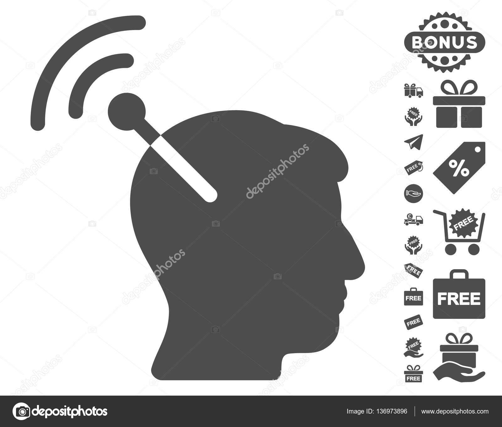 140265f1f9143 Pictograma de interfaz neuronal de radio con el conjunto de iconos gratis.  Estilo de ilustración vectorial es símbolos emblemáticos plana