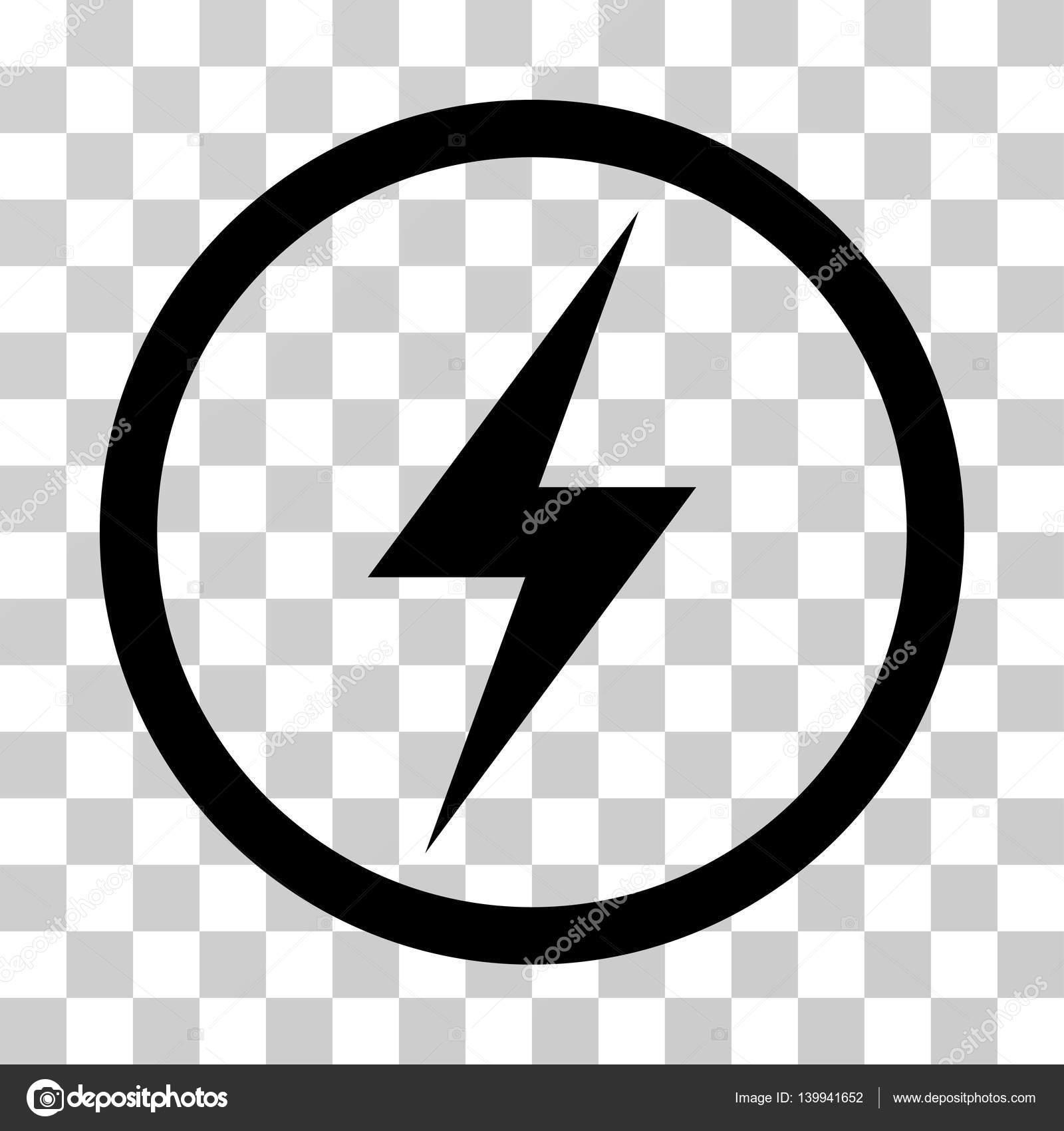 Strom Symbol abgerundeten Vektor Icon — Stockvektor © ahasoft #139941652