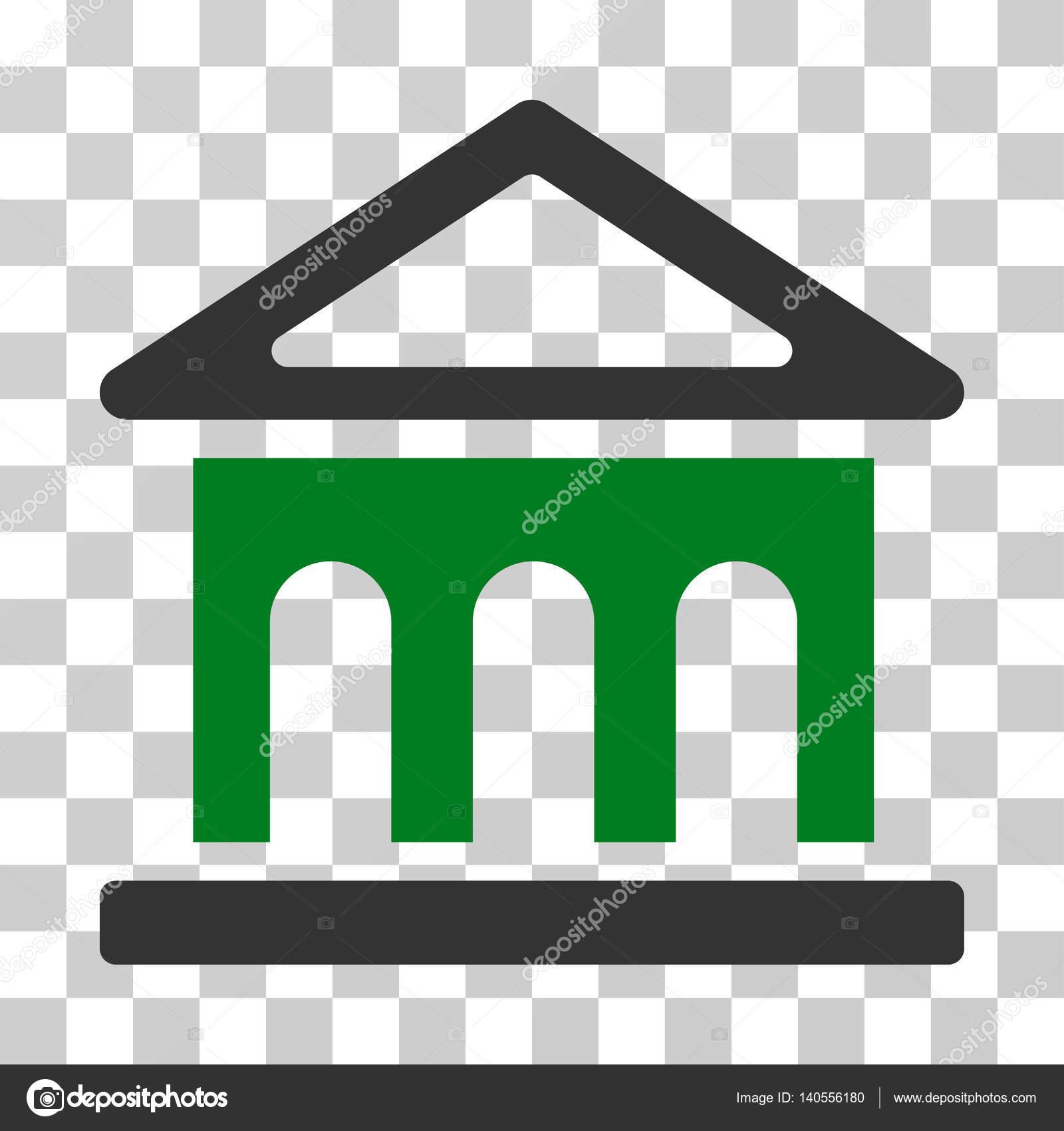 Banque Vectorielle bâtiment icône vecteur banque — image vectorielle ahasoft © #140556180