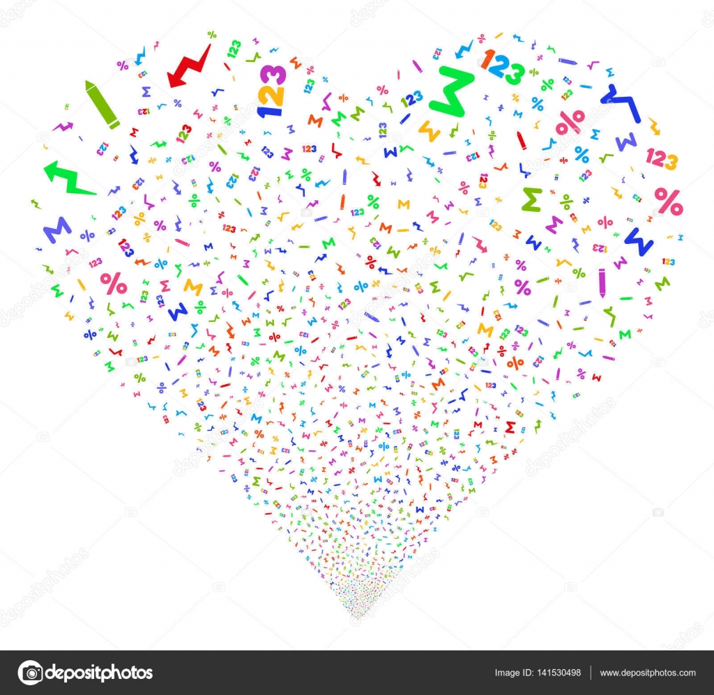 Math symbols fireworks heart stock vector ahasoft 141530498 math symbols fireworks heart stock vector biocorpaavc Choice Image