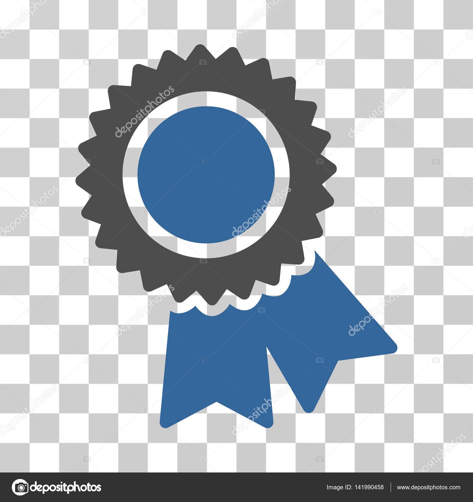 Certification Vector Icon Stock Vector Ahasoft 141990458