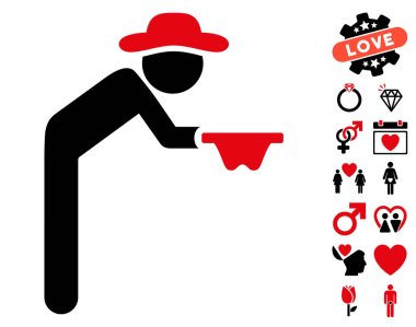 Gentleman Beggar Icon with Dating Bonus