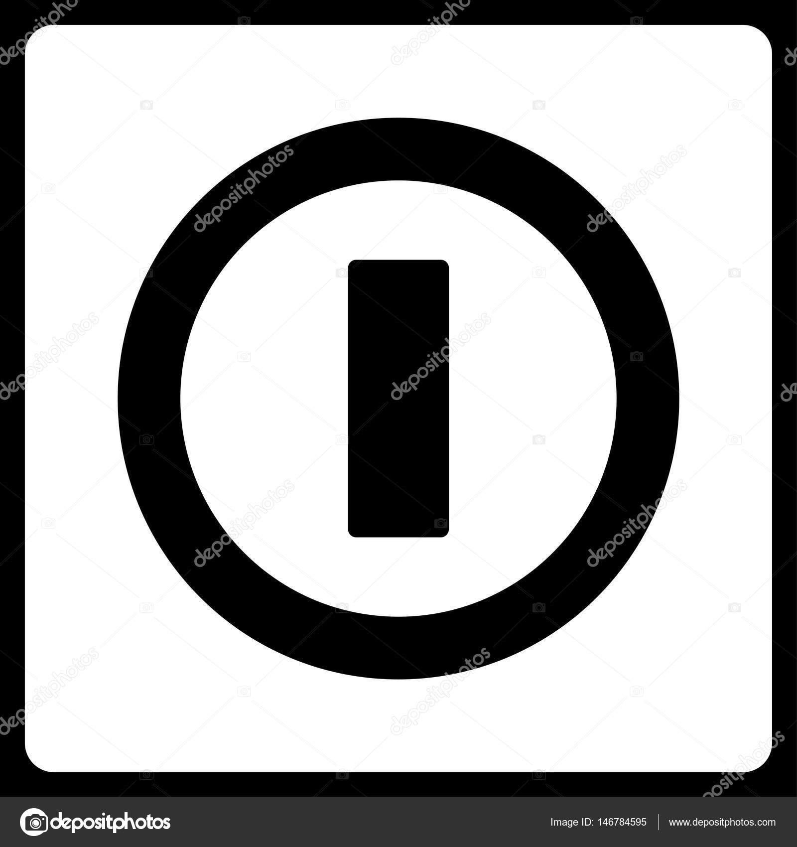 Schalter flache Vektor Icon — Stockvektor © ahasoft #146784595