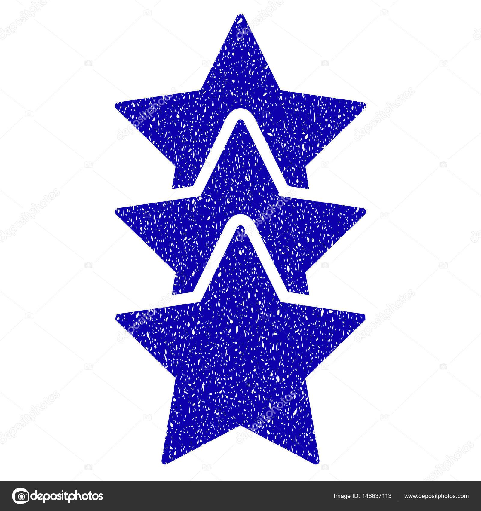 Rating Stars Icon Grunge Watermark — Stock Vector © ahasoft