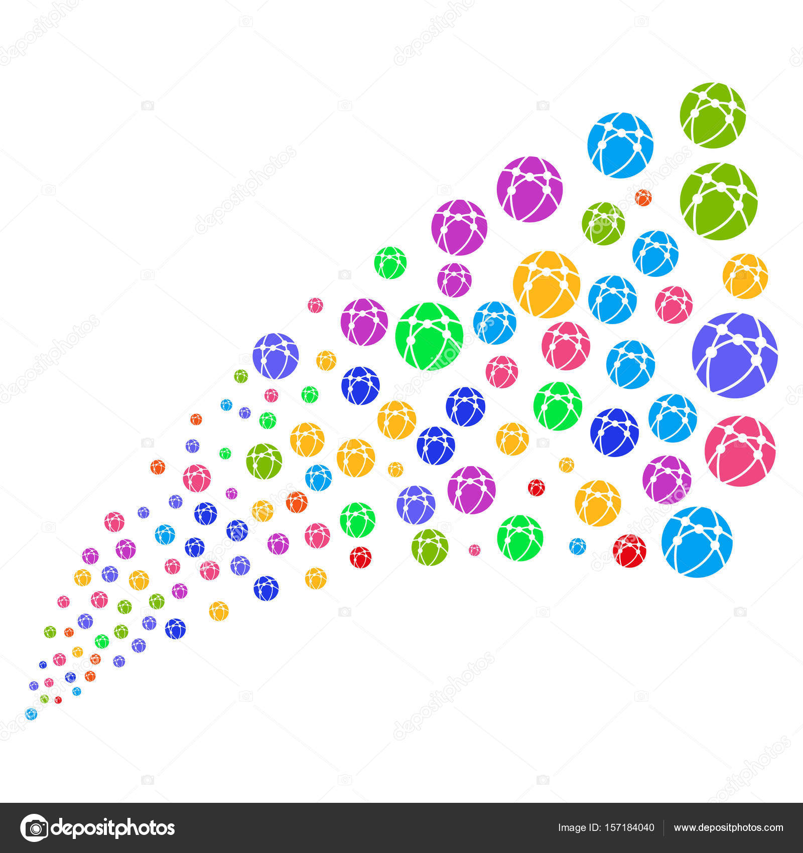 Source Stream Of Web Browser Stock Vector Ahasoft 157184040
