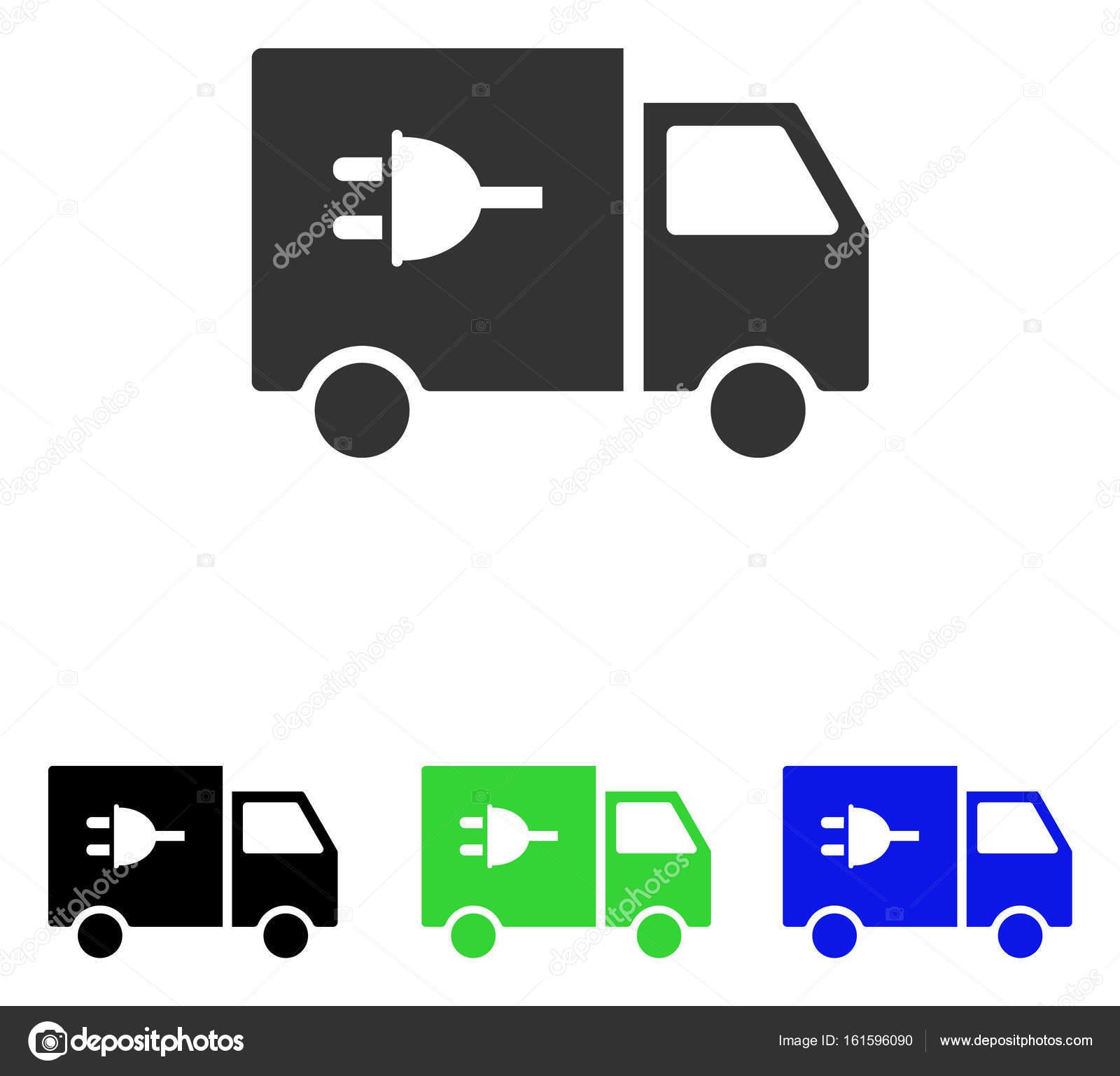 Elektro-Auto flach Vektor Icon — Stockvektor © ahasoft #161596090
