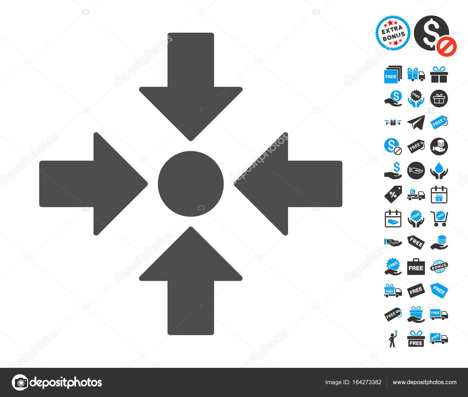 Meeting Point Symbol Mit Bonus Stockvektor Ahasoft 164273382