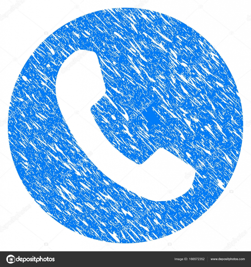 Phone Number Grunge Icon Stock Vector Ahasoft 166572352