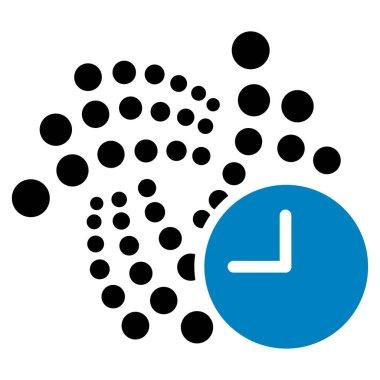 Iota Time Flat Icon