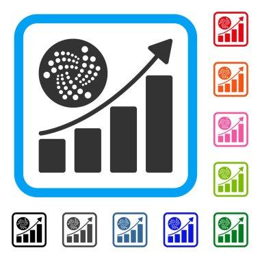 Iota Grow Up Chart Framed Icon