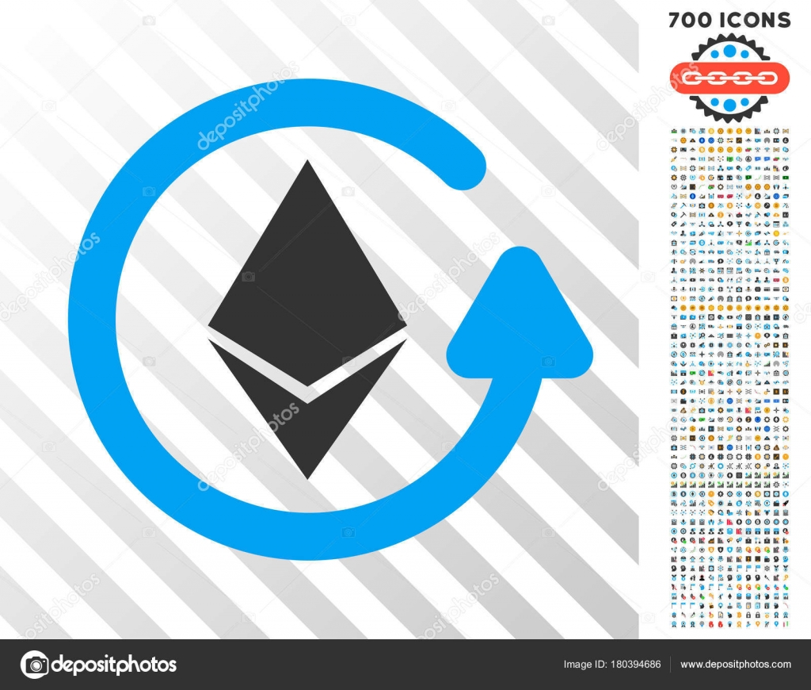 pictograma ethereum