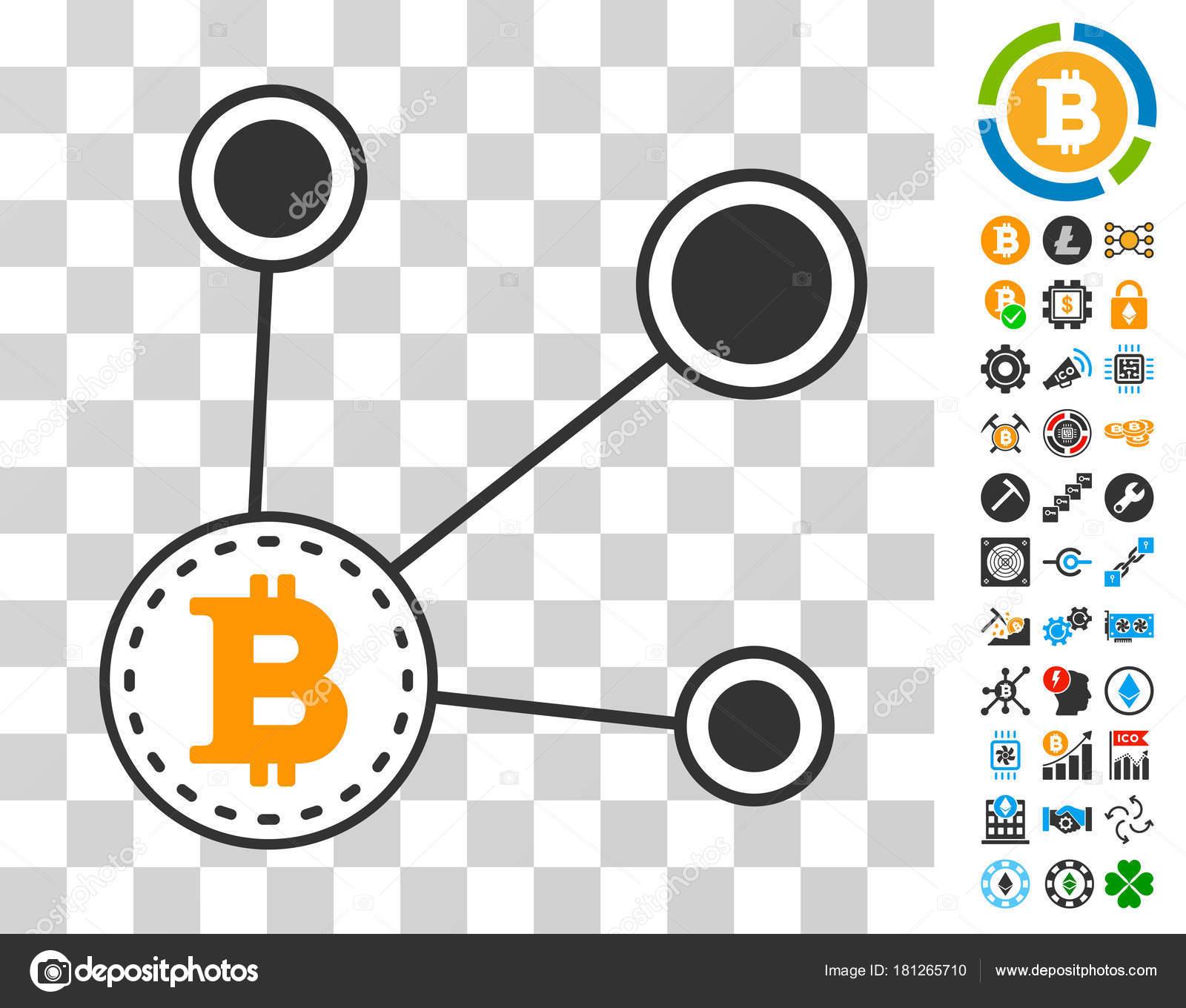 Bitcoin Node Connect Icon with Bonus — Stock Vector © ahasoft #181265710