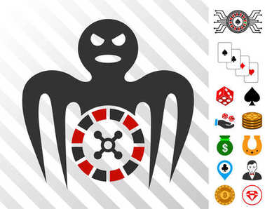 Roulette Spectre Monster Icon with Bonus