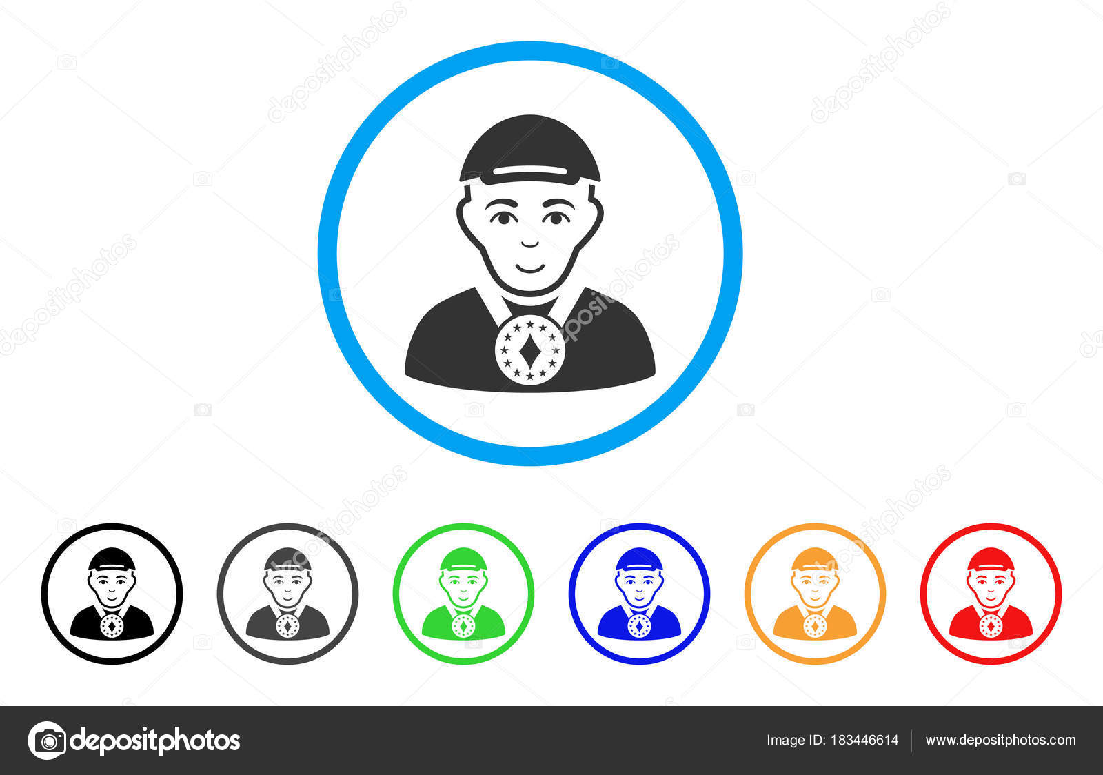7fade5e5988 Lord rounded icon. Style is a flat lord grey symbol inside light blue  circle with black