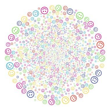 Glad Smiley Decoration Globula