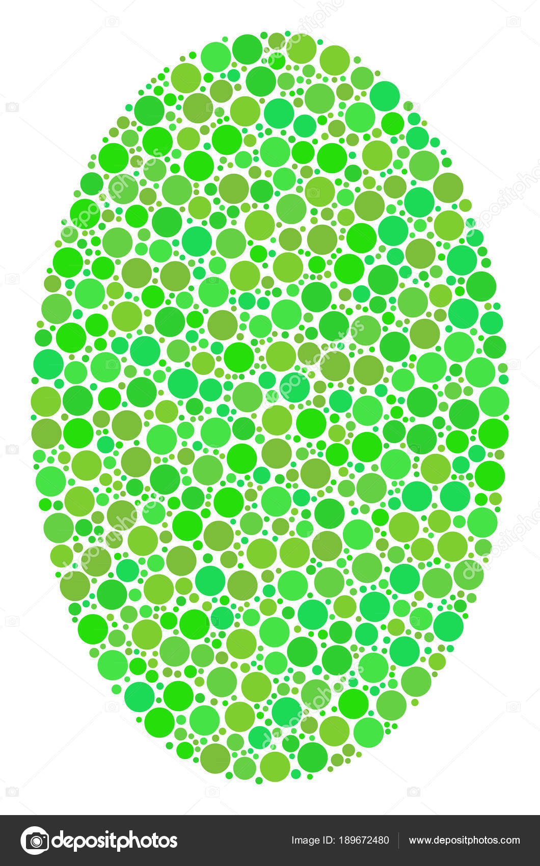 Filled Ellipse Composition of Dots — Stock Vector © ahasoft #189672480