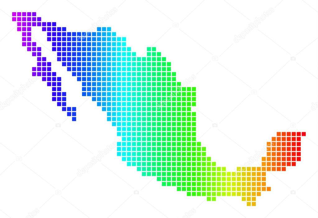 Icono Mapa Mexico Png: Vectorizado: Mapa Republica Mexicana
